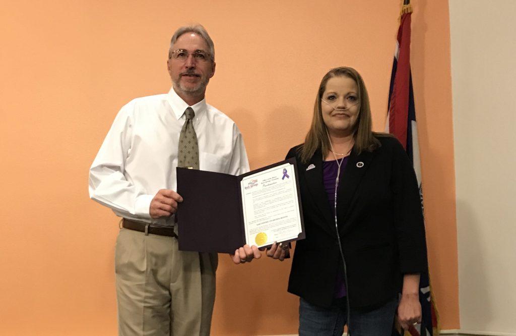 Wyoming Sarcoidosis Ambassador Raises Awareness in Sweetwater County