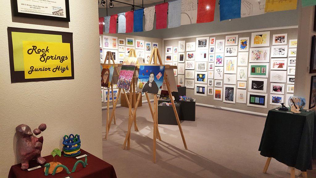 Junior High Student Artwork on Display at Fine Arts Center in April