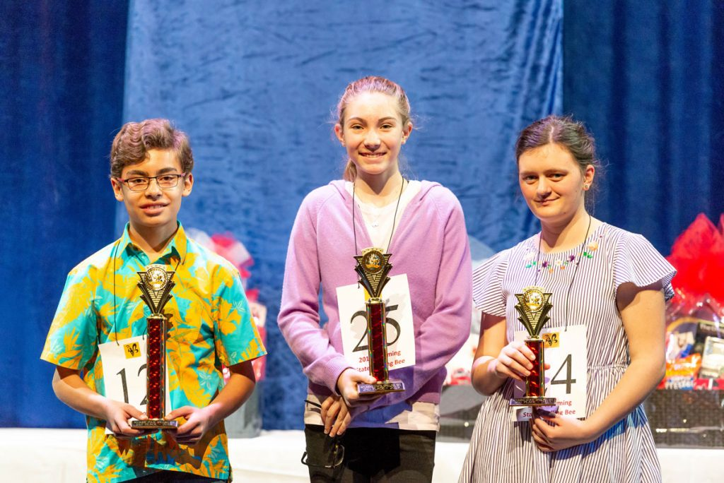 Students Compete at the 2019 Wyoming State Spelling Bee