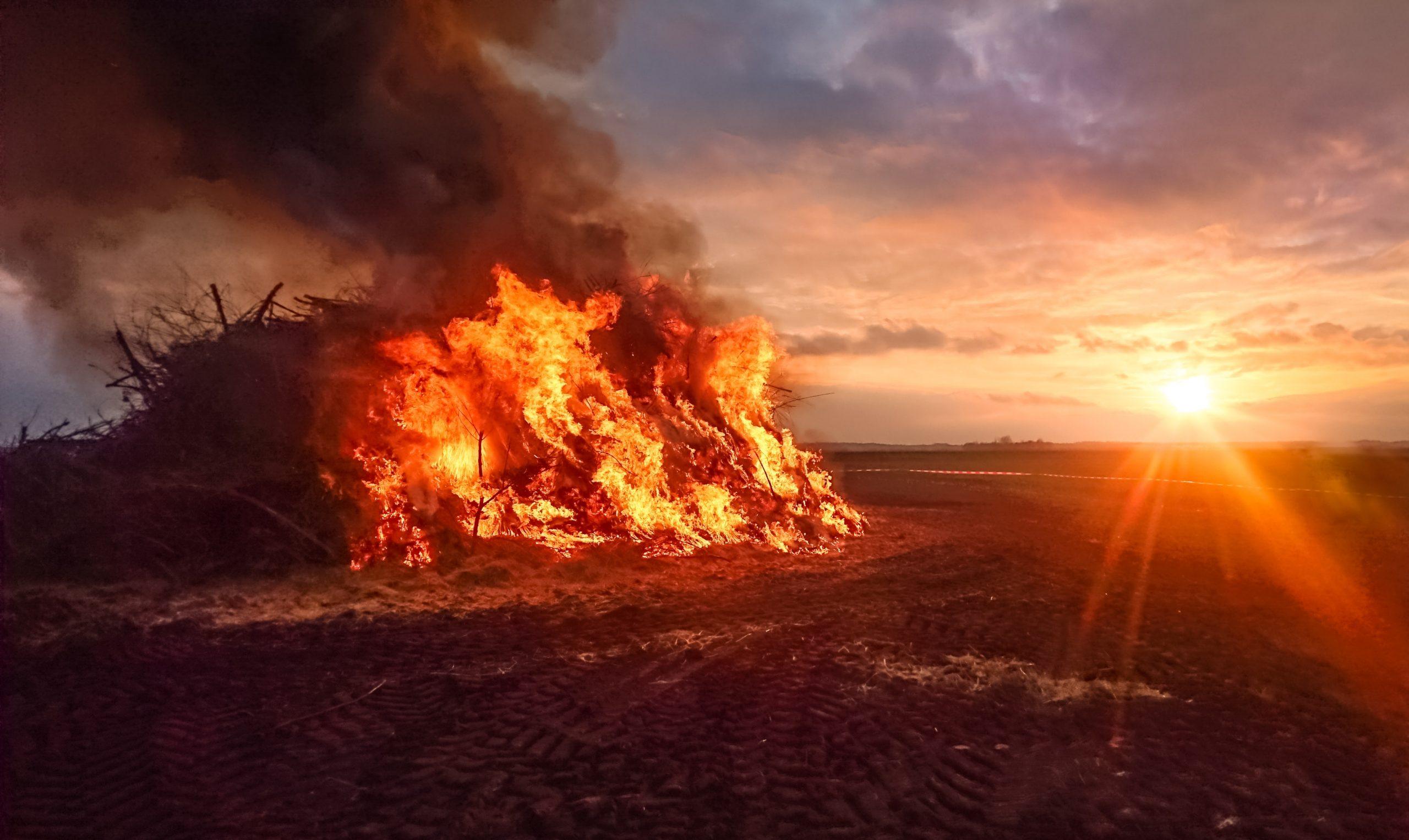 Bridger-Teton National Forest to Conduct Slash Pile Burning Near Pinedale