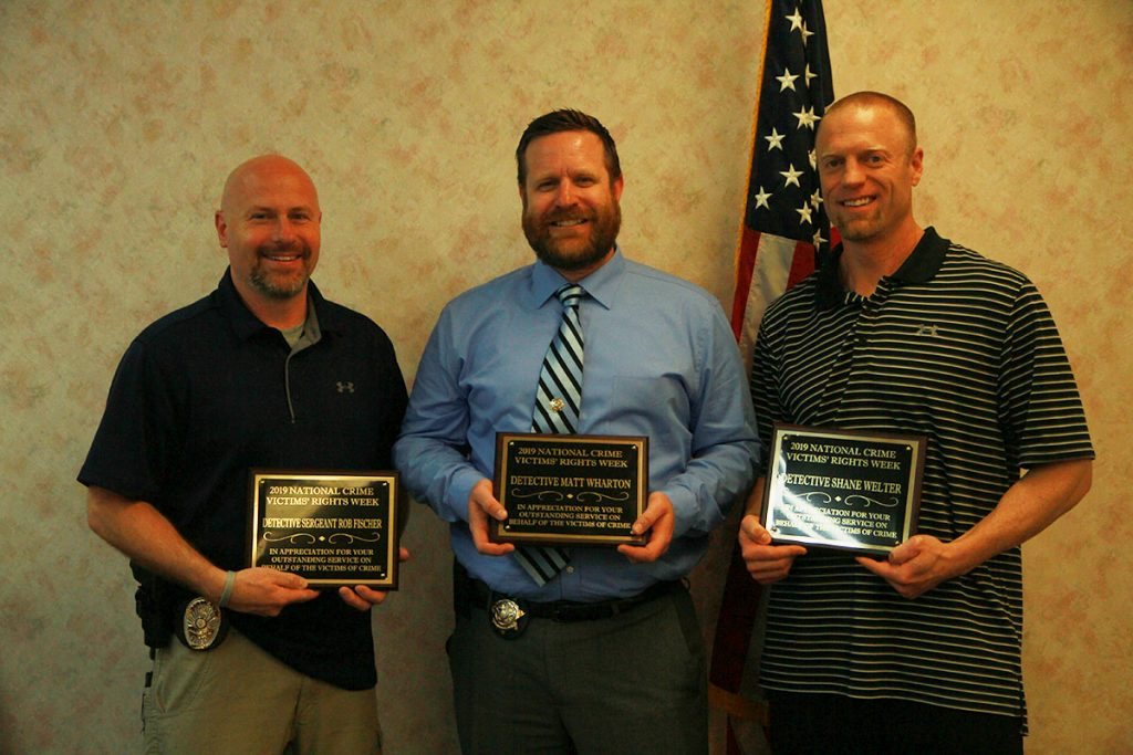 County Attorney's Office Honors Officers for Work with Crime Victims