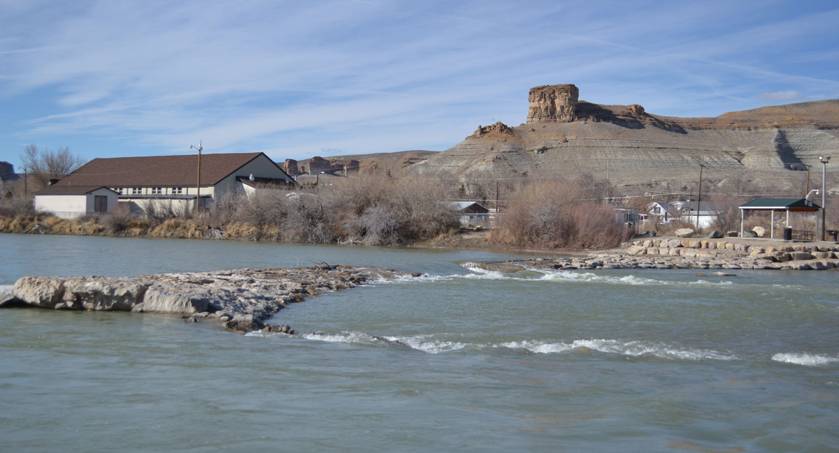 Green River Fire Department Rescues Individual from River