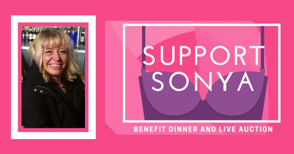Support Local Cancer Patient Sonya Riskus at the Support Sonya Benefit Dinner & Live Auction