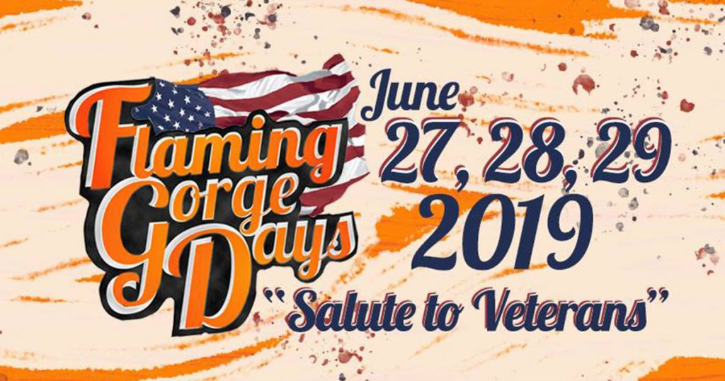Thursday Events for Flaming Gorge Days 2019