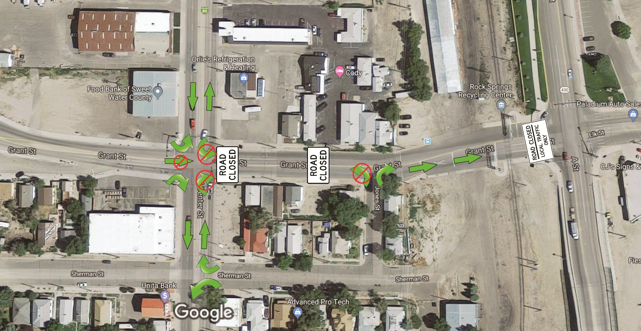 Part of Grant Street Scheduled to Close for Nearly a Month