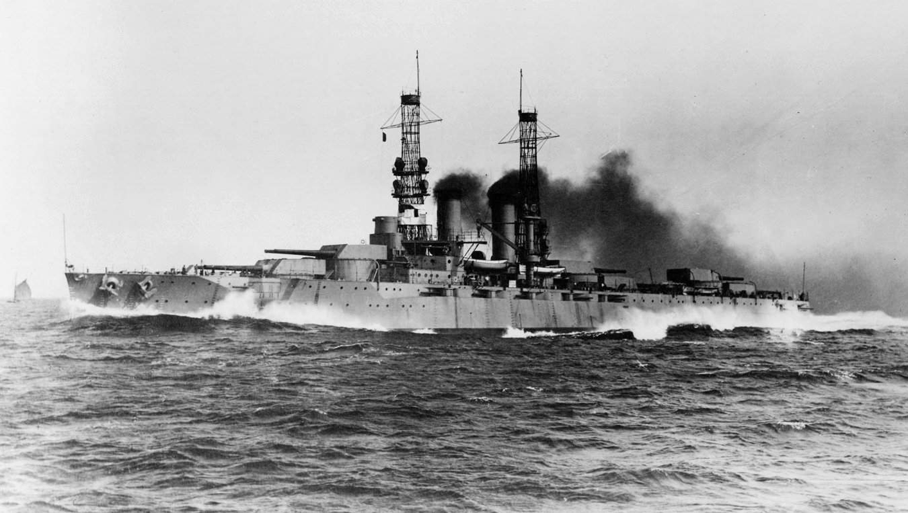 Battleship USS Wyoming Launched 108 Years Ago Today