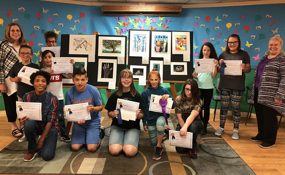 Woman's Club of Rock Springs Recognize Local Youth Artists