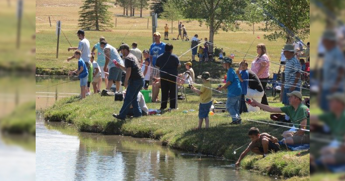 Youth of All Ages Invited to the Huck Finn Fishing Derby Saturday