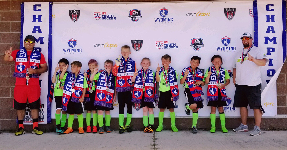 Green River U-10 Spurs Soccer Team Claims State Championship