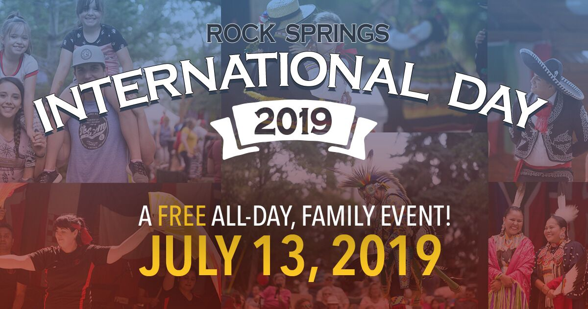 Celebrate Our Diverse City at Rock Springs International Day 2019