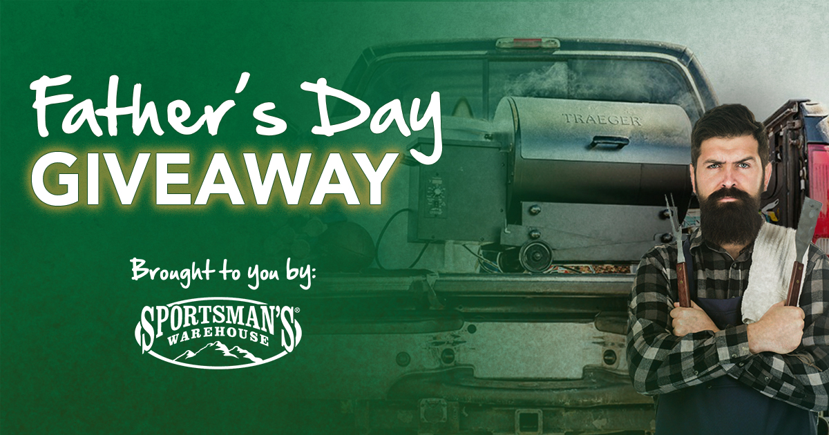 Win Your Dad a Traeger Tailgater Grill this Father's Day!