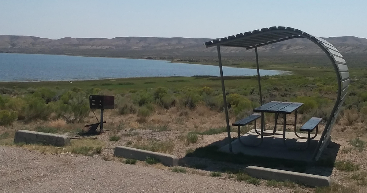 Potable Water Returns to Fontenelle Creek Campground