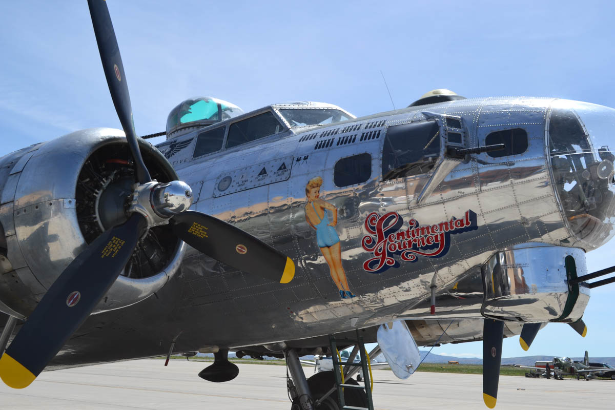 Historic B-17 Bomber Stationed in Rock Springs for the Week [PHOTOS]