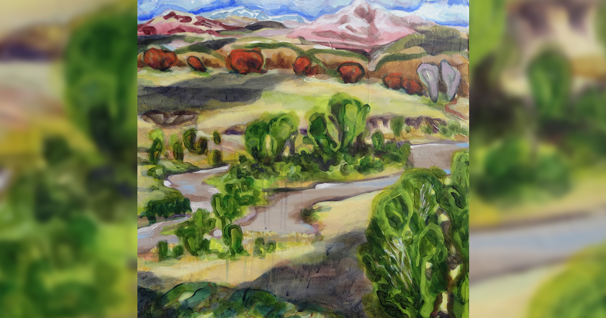 """Artist returns to CFAC with """"Close to Home"""" exhibit"""