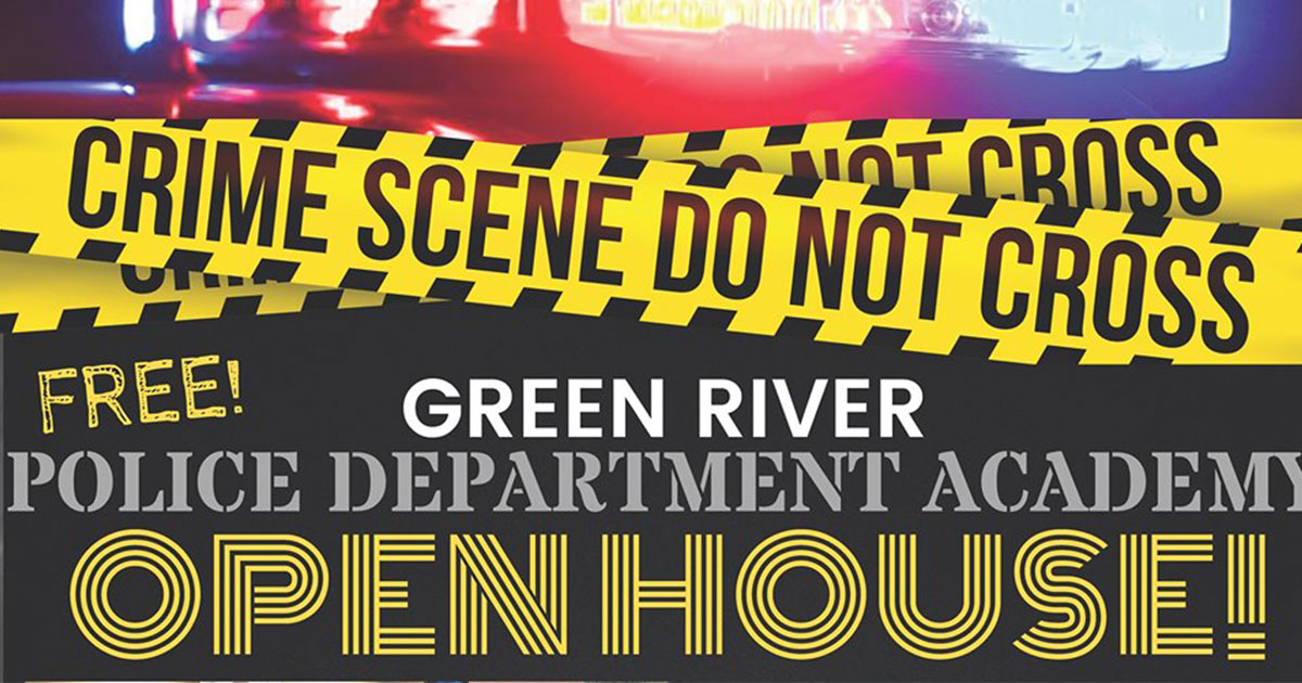 Join Green River's Finest at the GRPD Open House Academy