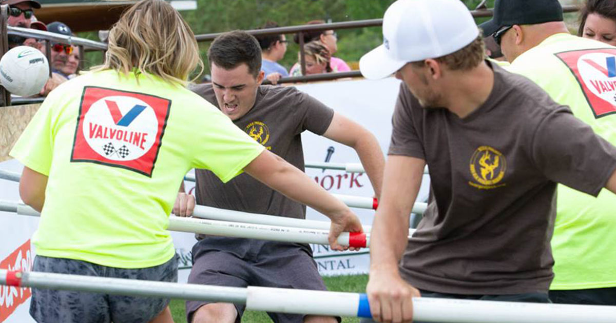 Use Your Fancy Footwork at the 2019 FGD Human Foosball Tournament
