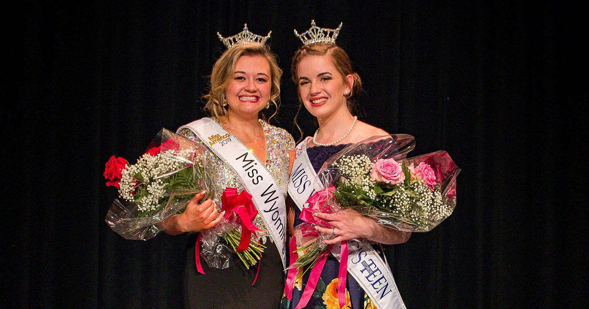 Rock Springs Girls Crowned Miss Wyoming and Miss Wyoming's Outstanding Teen