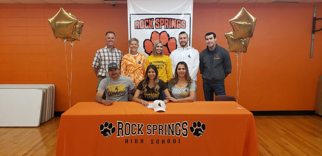 RSHS Track Standout Inks With University of Wyoming
