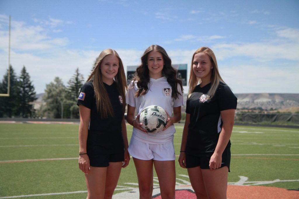 Three RSHS Soccer Stars Make Wyoming Soccer History; Finish Third at US National Cup