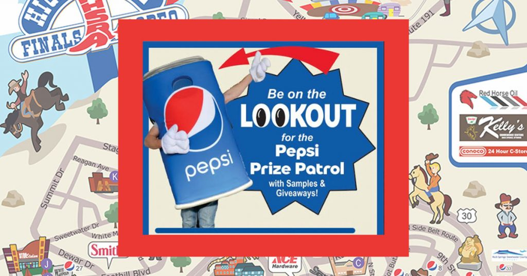 Get Caught Drinking Pepsi & Win $100 at the National High School Finals Rodeo