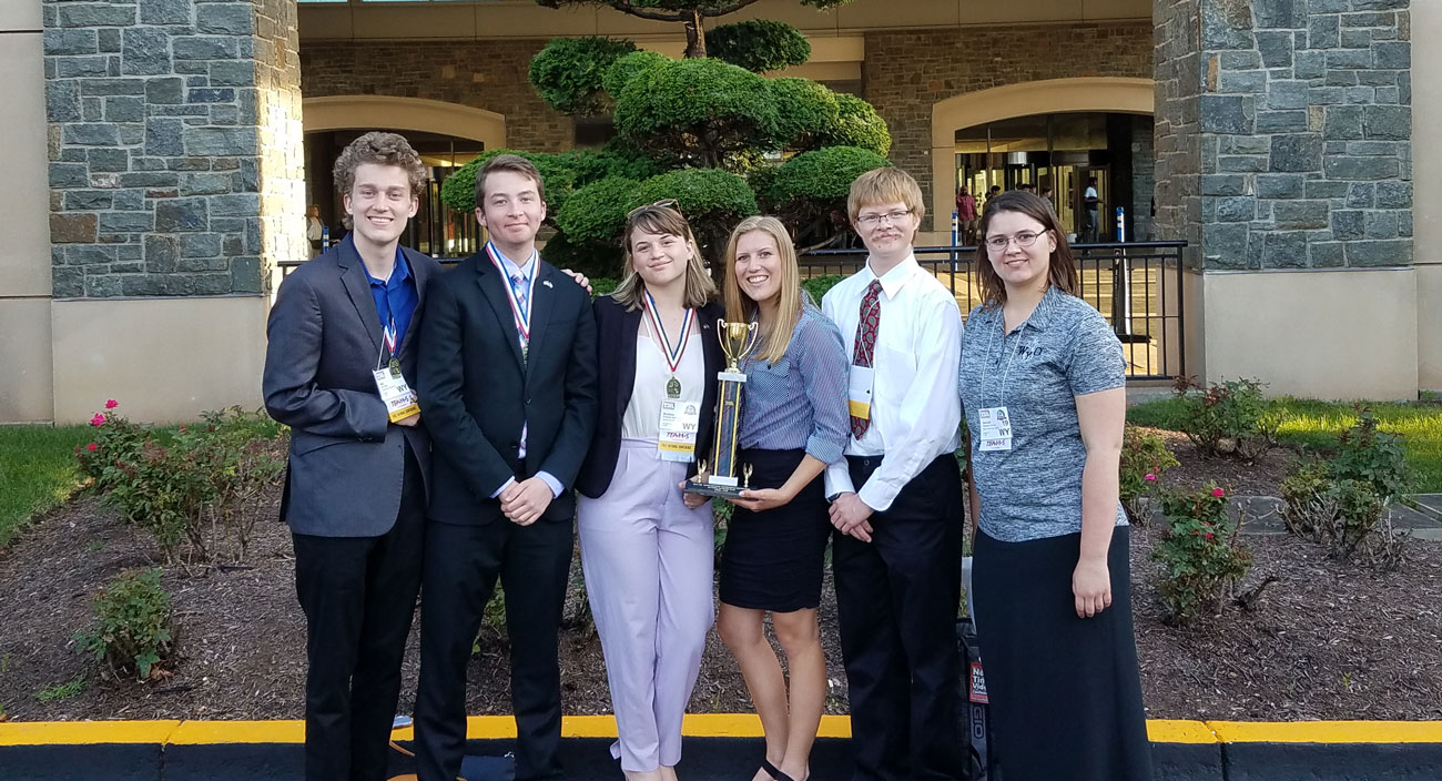 GRHS Earns Honors at National TEAMS Engineering Competition