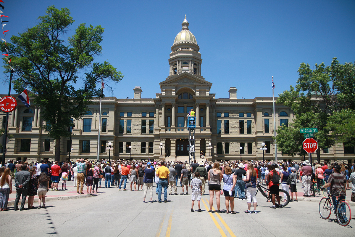 PHOTOS: Wyoming Celebrates 129th Birthday with Grand Re-Opening of Capitol Building