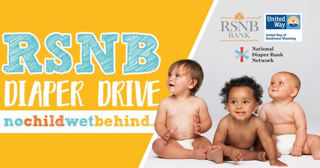 Help Keep Local Babies Dry at the 4th Annual RSNB Bank Diaper Drive