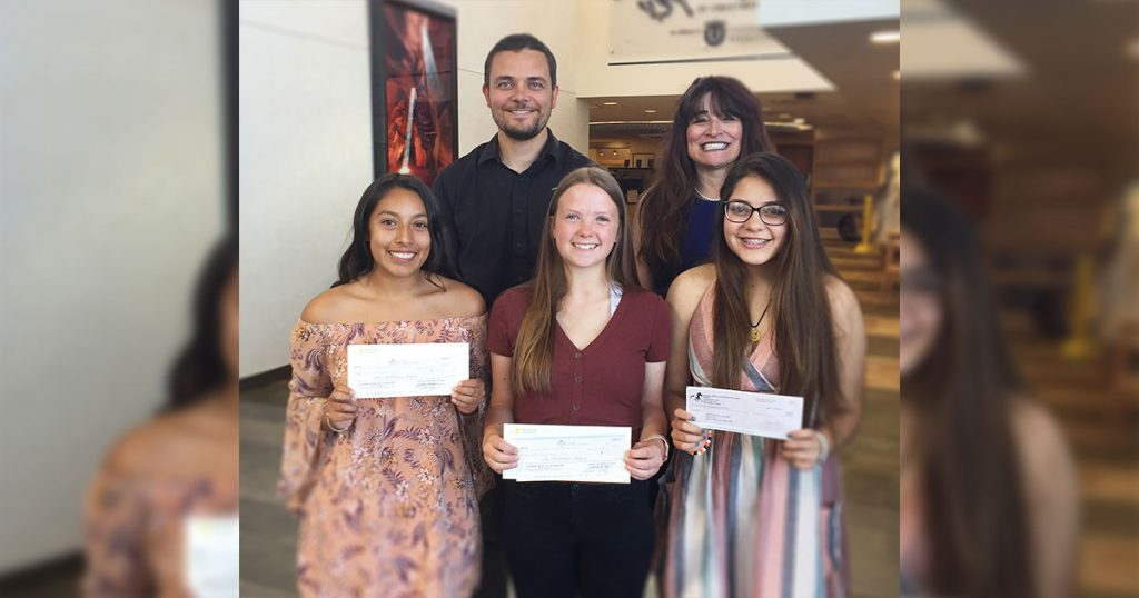Sweetwater Memorial Awards Three Scholarships