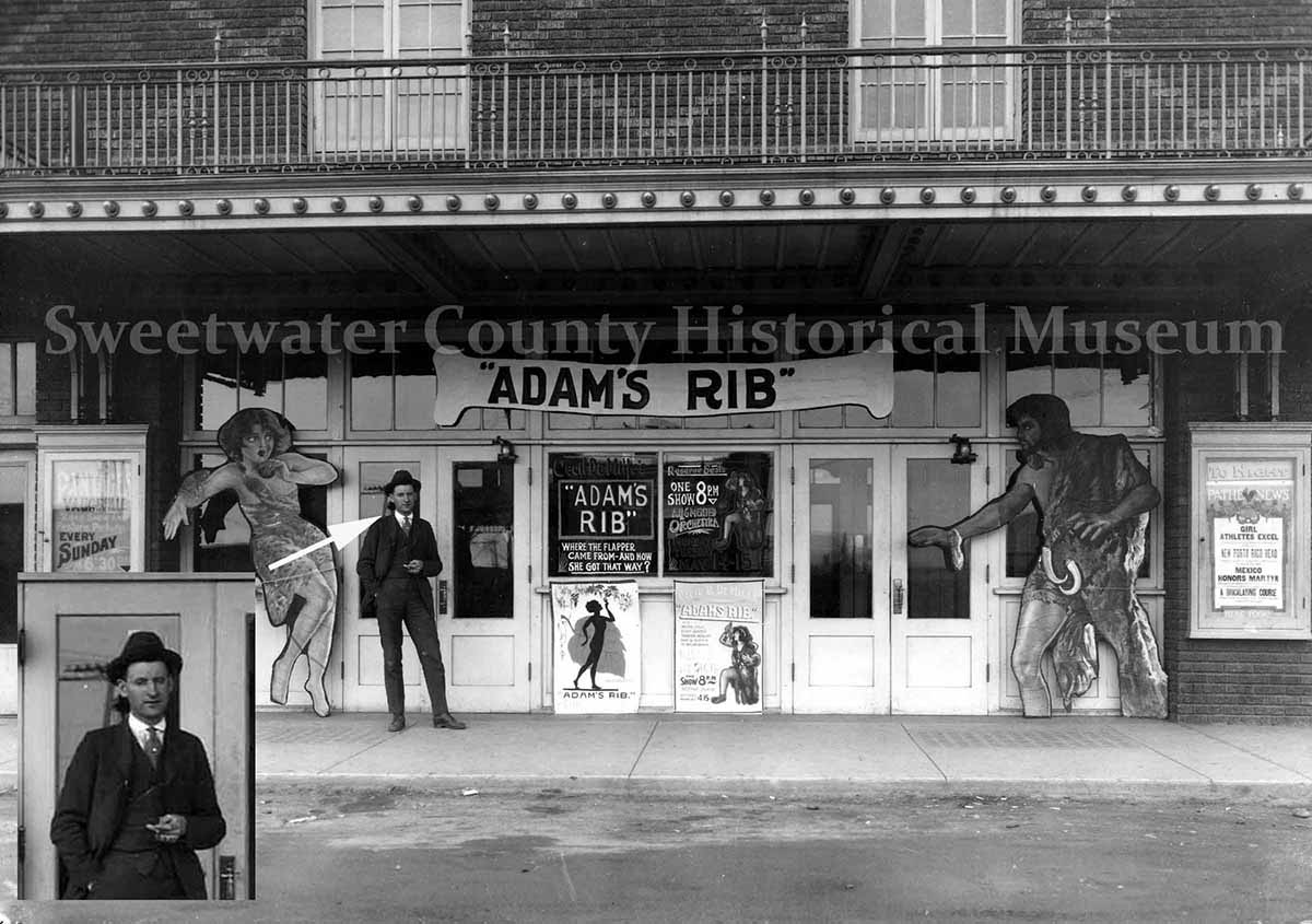 Sweetwater County Museum Identifies Man in 1923 Rialto Photograph