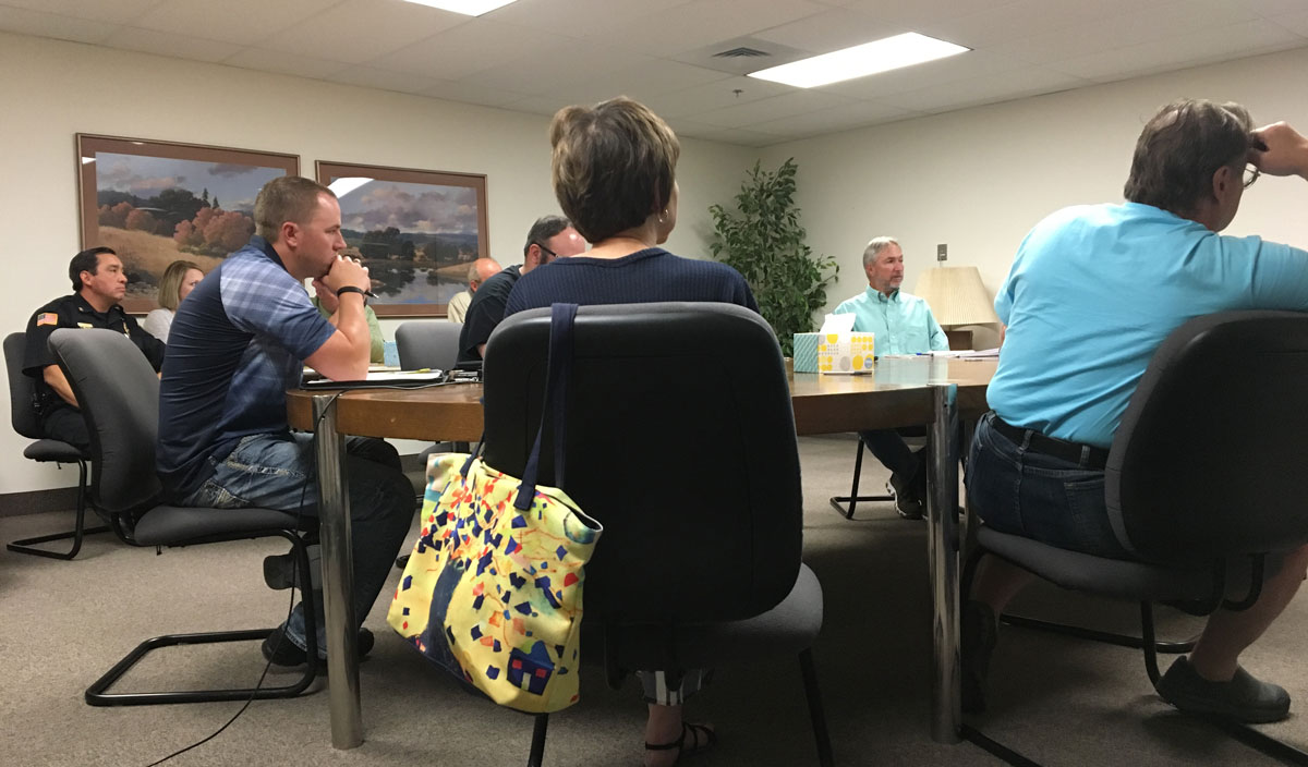 City of Rock Springs and Events Complex Discuss MOU Issues in Special Council Meeting