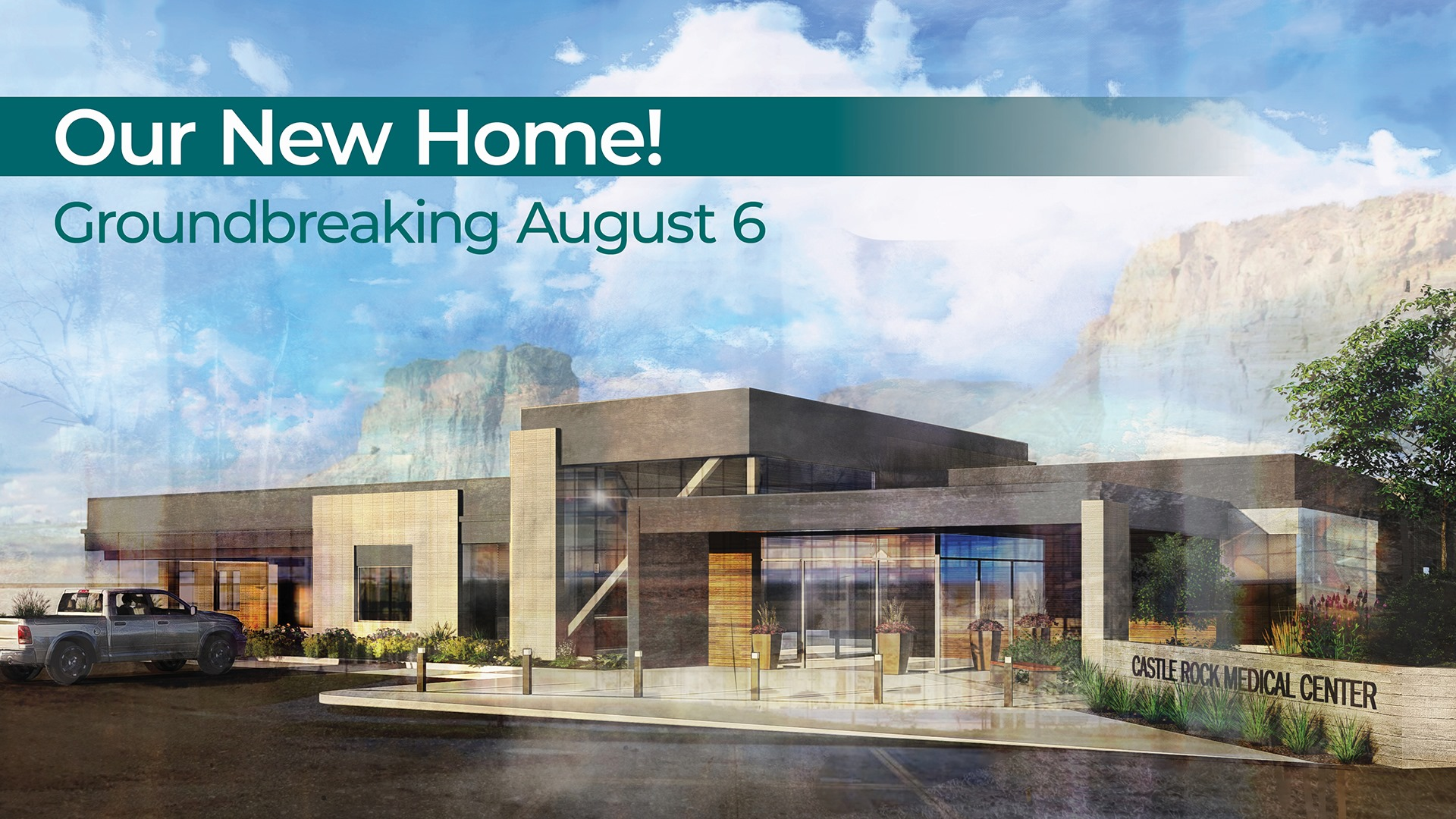 You're Invited–Castle Rock Medical Center Breaks Ground on New Location