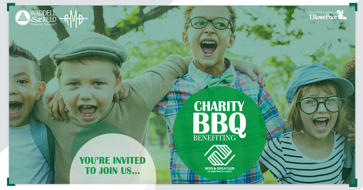Join Waddell & Reed for a BBQ Event to Benefit the Boys & Girls Club of Sweetwater County