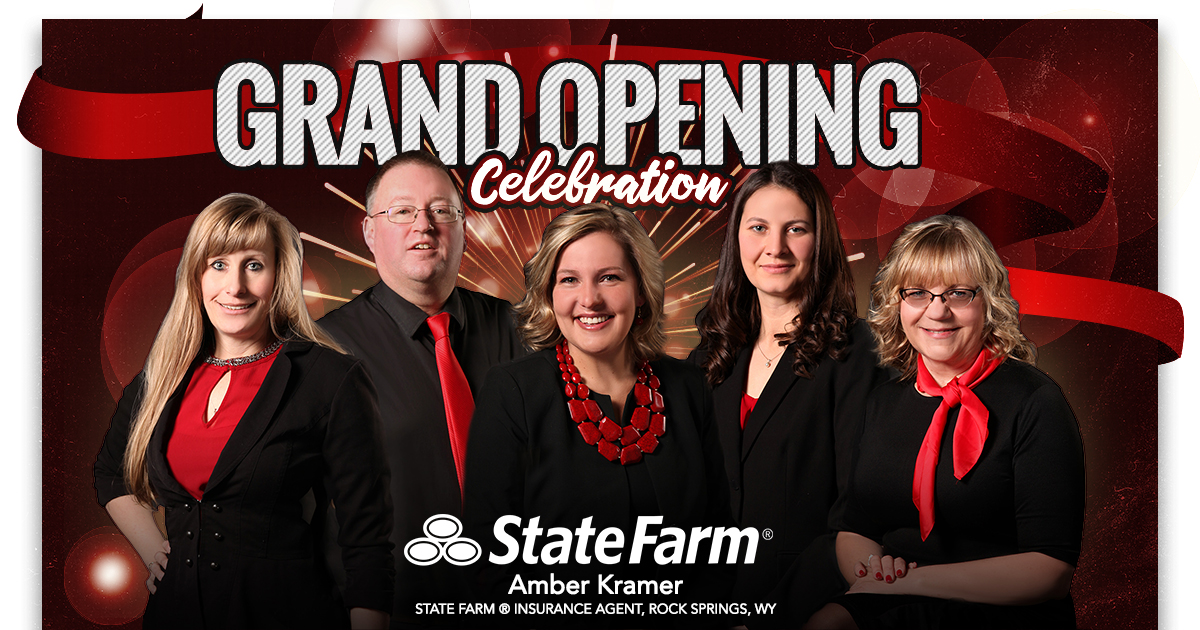 You're Invited to the Grand Opening of Amber Kramer–State Farm