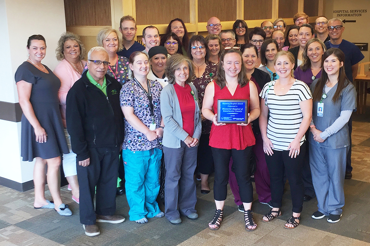 Memorial Hospital Earns Wyoming Quality Excellence Award