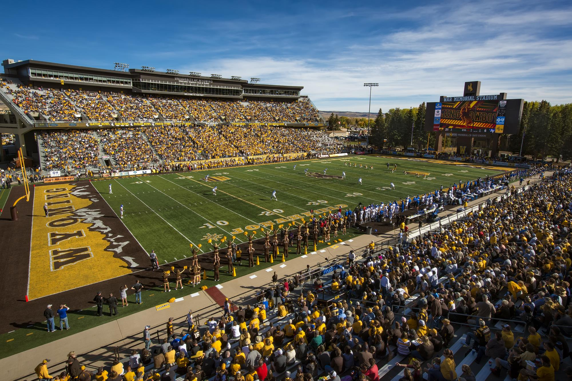 Important Fan Information Prior to Wyoming vs Missouri Game