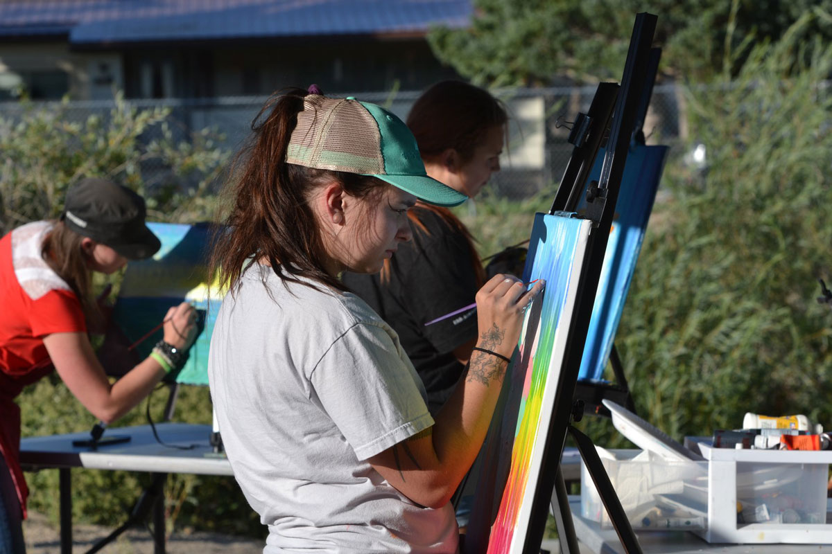 Great Fun and Art at Annual River Festival and Art on the Green