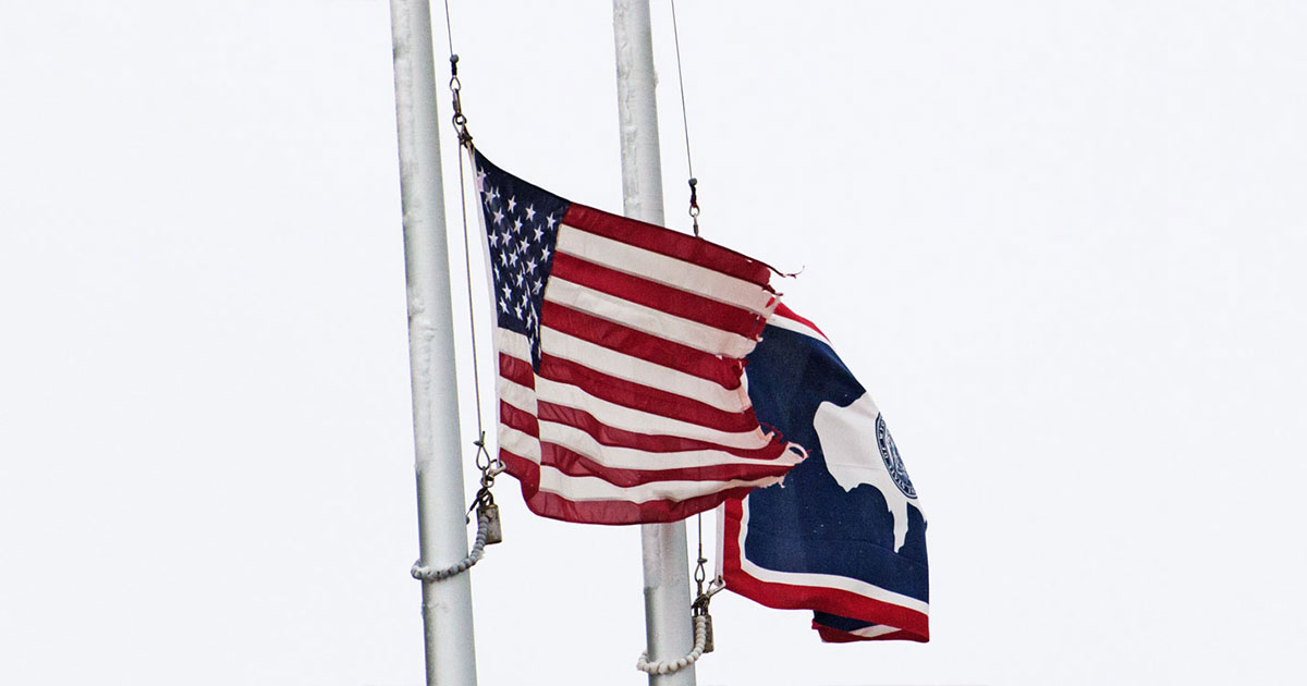 Flags to Fly at Half-Staff Monday for Memorial Day and Day of Prayer for Permanent Peace