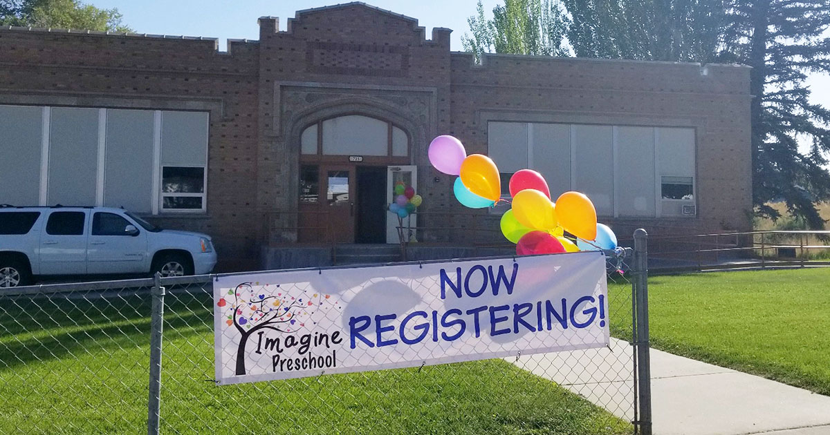 Register Your 4 or 5 year Old for Imagine Preschool!