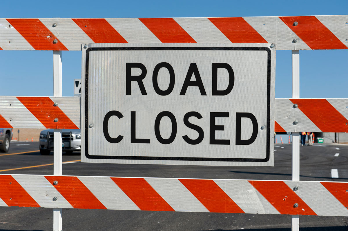 Construction Projects North of Rock Springs To Temporarily Close Roads