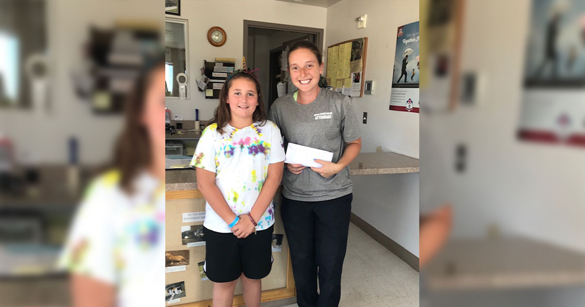 Local Girl Donates Lemonade Stand Proceeds to Animal Shelter