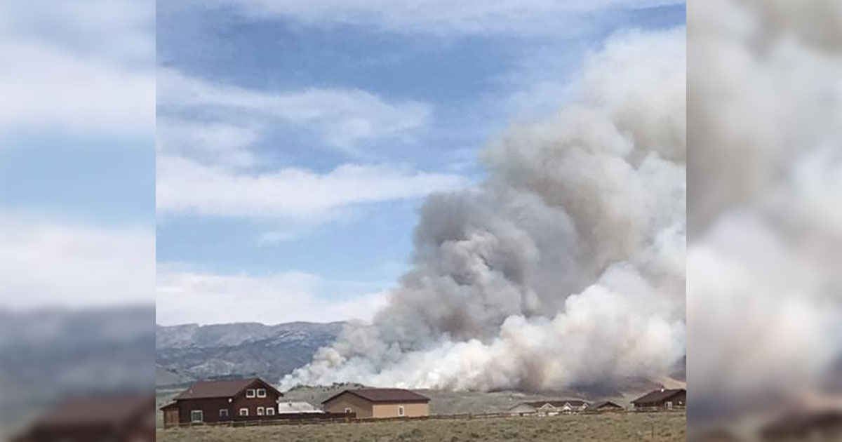Progress Made on Tannerite Fire; 20 Percent Contained