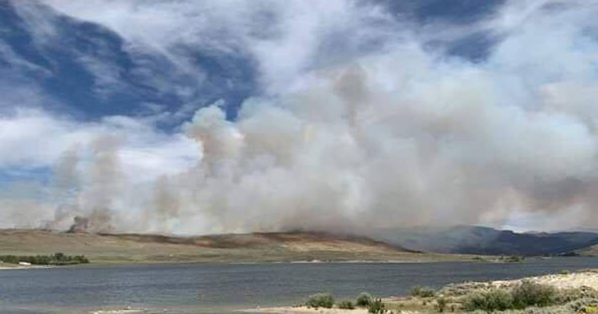 Tannerite Fire Draws Multi-Agency Response; Officials Say Fire Was Caused by Human