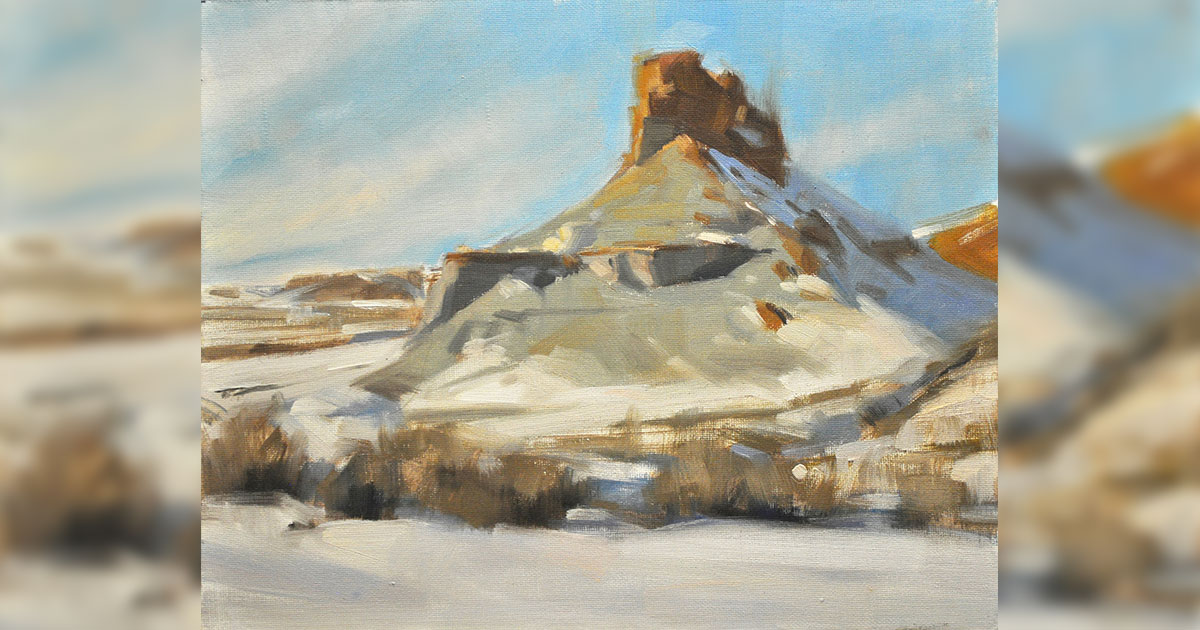 Artist Michael Parker Returns to Sweetwater County