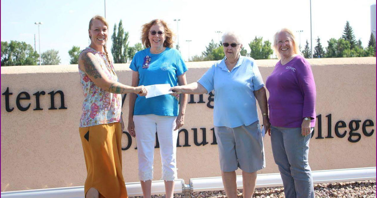 Recipients of Woman's Club Grant Announced