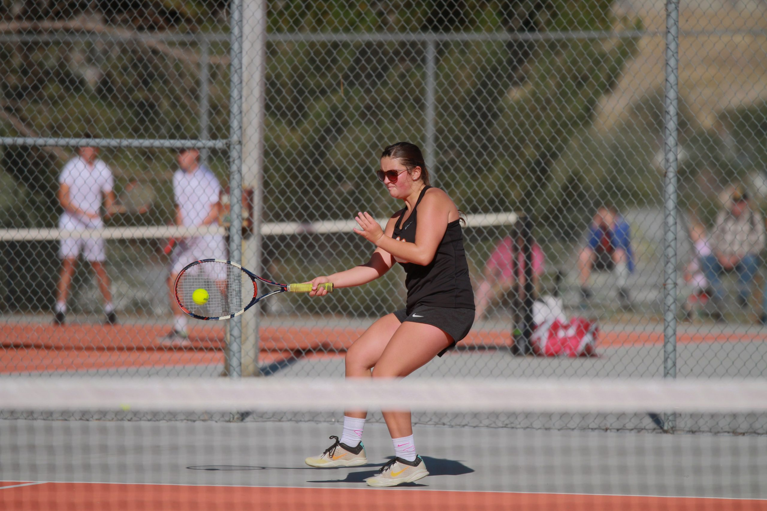 Tiger Tennis Hosts Cheyenne Schools for Final Home Competition