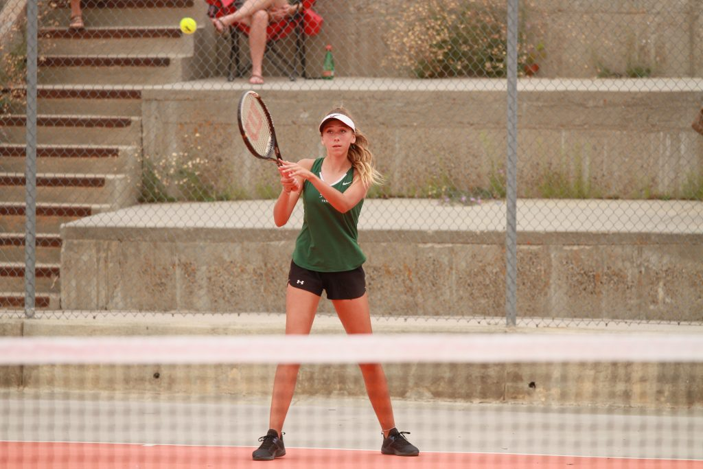 GRHS Tennis Splits Matches With Cheyenne Teams