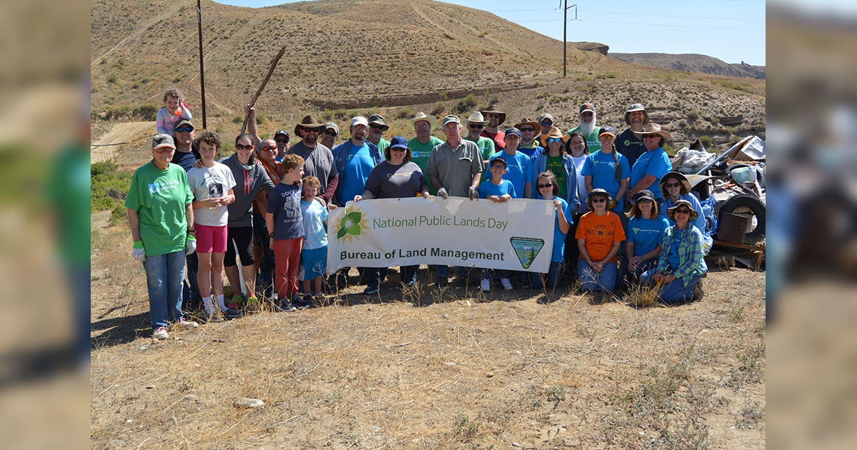 BLM Rock Springs to Plant Sagebrush on National Public Lands Day