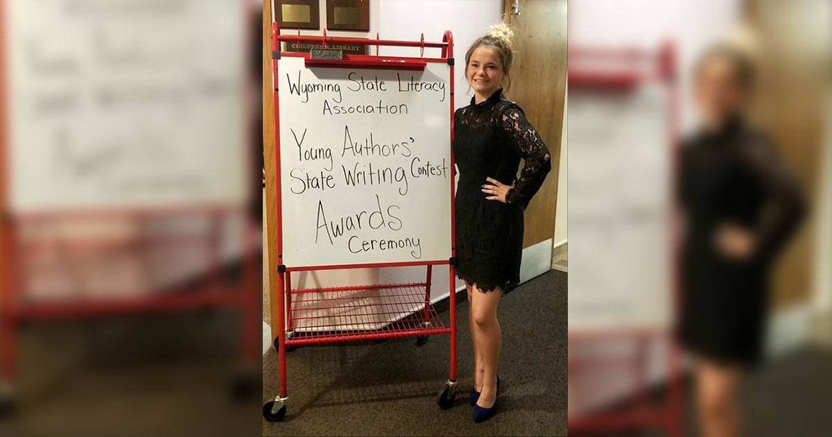 RSHS Student Takes Top Spot in Young Authors Contest