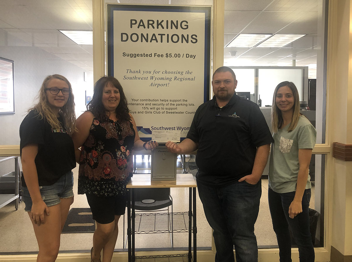 Southwest Wyoming Regional Airport Supports Boys & Girls Club of Sweetwater County