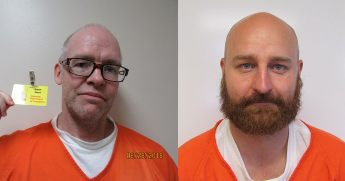 Wyoming Honor Conservation Camp Escapees Remain At Large; Stolen Vehicle Found in Laramie